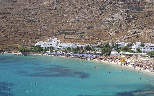 Греция Миконос Псару