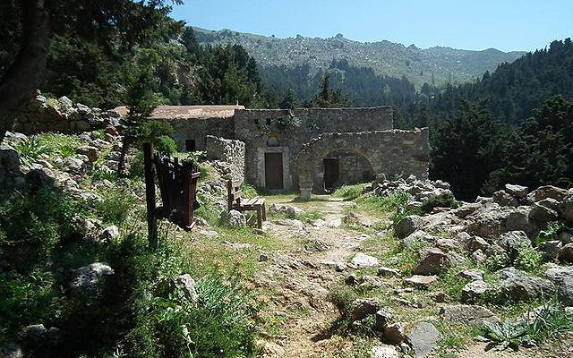 Греция Кос Замок и Старый город Пили