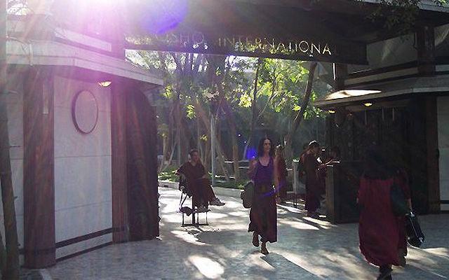 Греция Санторини Центр медитации Ошо