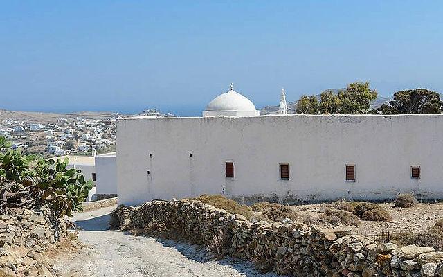 Греция Миконос Монастырь Палеокастро