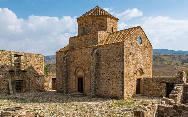 Кипр Монастырь Богородицы Синти