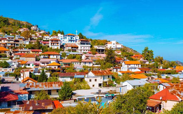 Достопримечательности Кипр Деревня Педулас