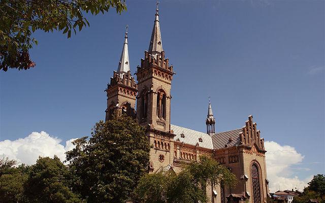Грузия Кафедральный собор Пресвятой Богородицы Батуми