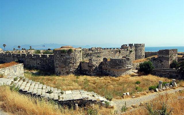 Греция Кос Замок Neratzia Кос