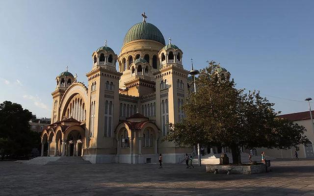 Греция Пелопоннес Собор Святого Андрея