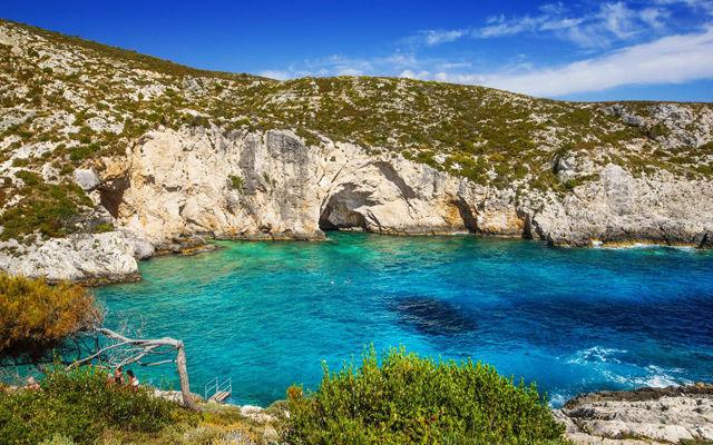 Греция Закинф Пляж Porto Limnionas
