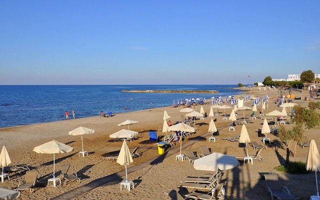 Греция Крит Пляж Аниссарас область Ираклион