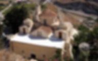 Греция Санторини Церковь Панагии Эпископи