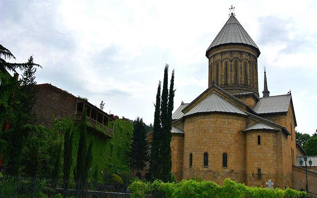 Грузия Собор Сиони Тбилиси