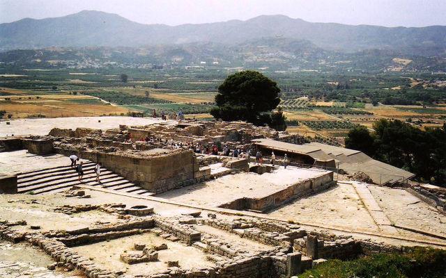 Греция Крит Фестский дворец
