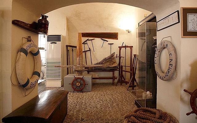 Греция Санторини Морской музей