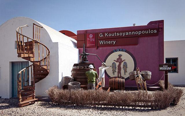 Греция Санторини Музей вина