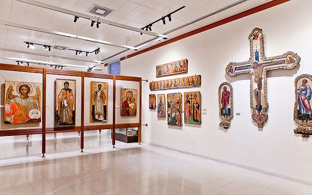 Кипр Византийский музей и Галерея искусств (Никосия)