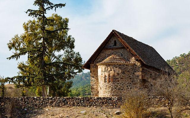 Кипр Церковь Богородицы Асину
