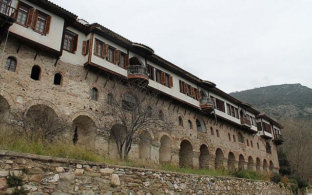 Греция Монастырь святой Анастасии Узорешительницы