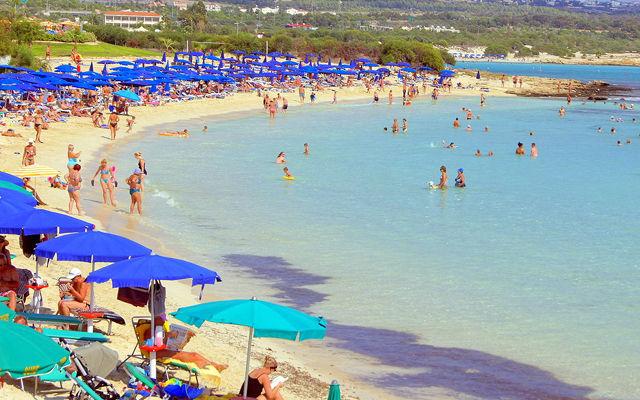 Кипр Пляж Макронисос (Айя-Напа)