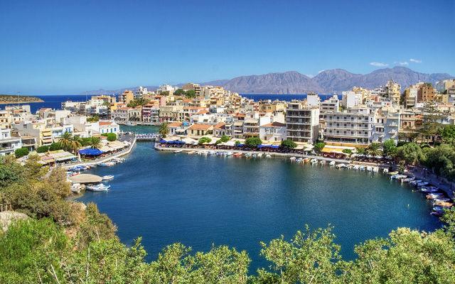 Греция Крит Озеро Вулисмени