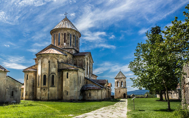 Грузия Монастырь Гелати Кутаиси