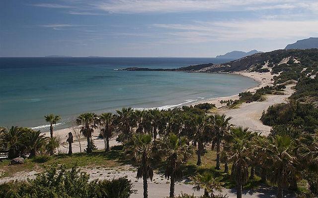 Греция Кос Пляж Paradise-Бич Кефалос