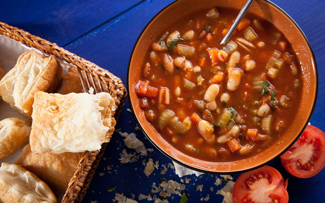 Национальная кухня Греции Фасолада