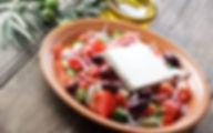 Национальная кухня Греции Хорьятики салата (Греческий салат)