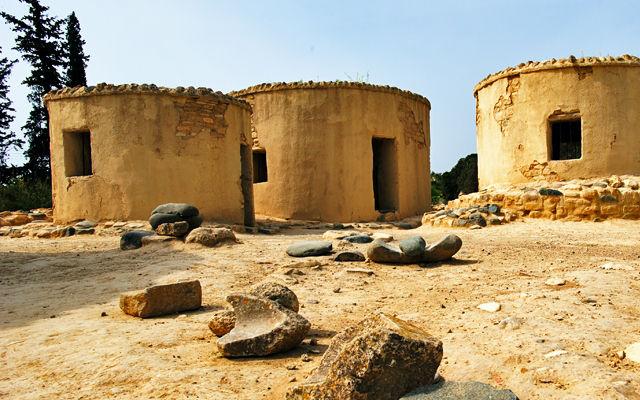 Кипр Территория Археологических раскопок Хирокития