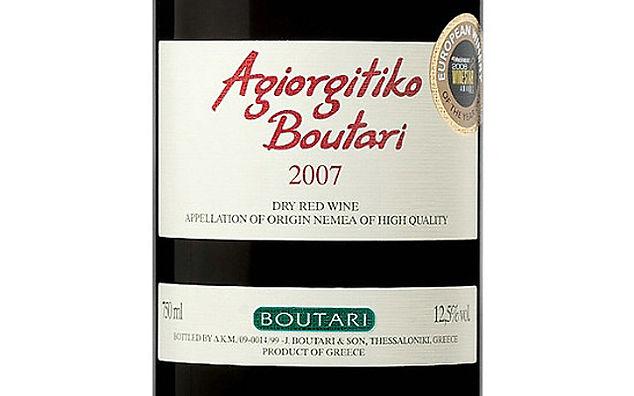 Греческие вина и напитки Агиоргитико