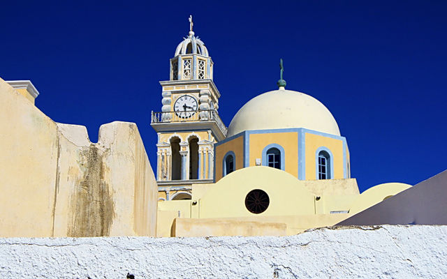 Греция Санторини Католический собор Святого Иоанна