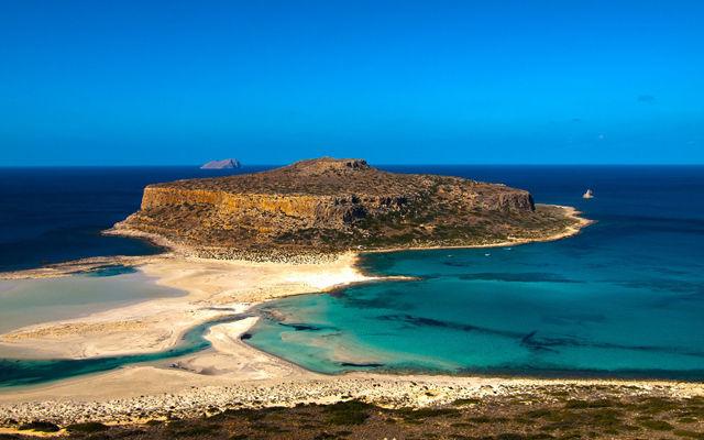 Греция Крит Пляж Лагуна Балос область Ханья