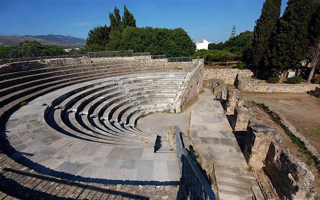 Греция Кос Римский Одеон Кос