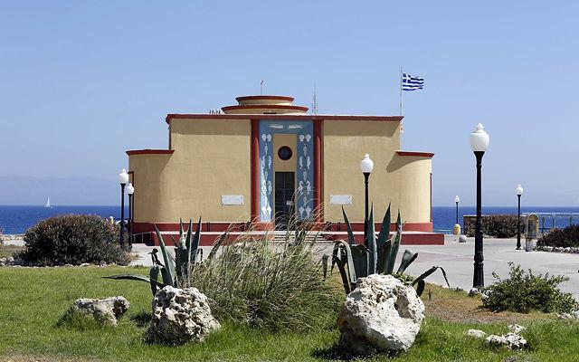 Греция Родос Аквариум Родоса