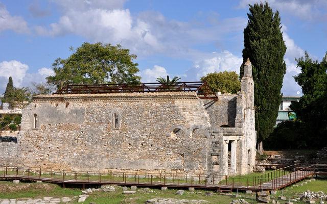 Греция Корфу Древний город Палеополис