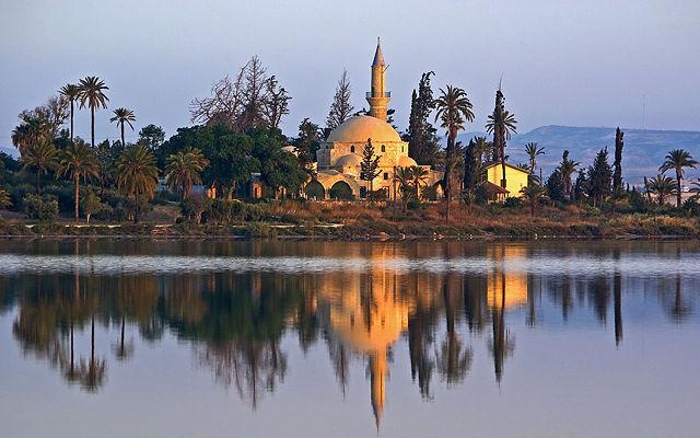 Кипр Мечеть Хала-Султан-Текке (Ларнака)
