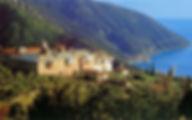 Греция Афон Монастырь Ксиропотам