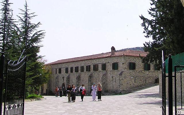 Кипр Монастырь Святого Мины