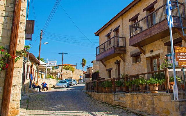 Кипр Деревня Аногира
