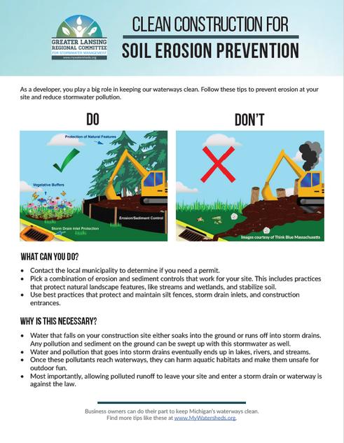 Soil Erosion Prevention