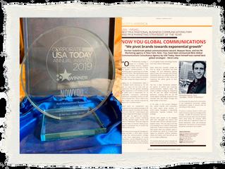 Best TelAviv-NY - Award 2019