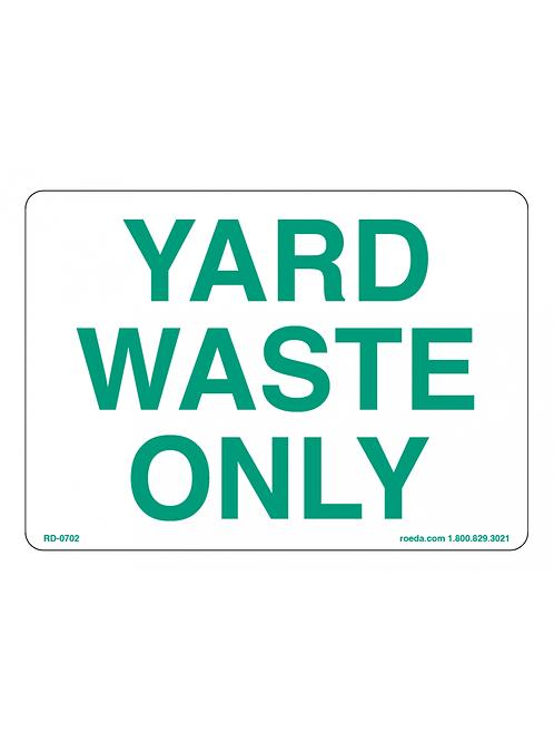 Lake Jackson- Yard Waste