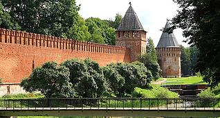 Смоленск, тур, Крепость, башни
