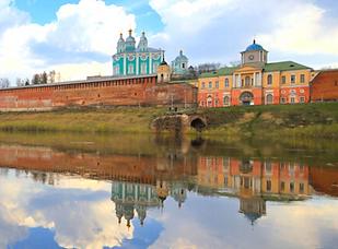 СмоленскТур. Вид на Смоленскую крепость