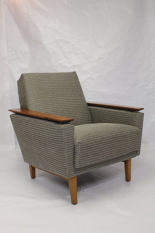 Fauteuil vintage cube CHARLY