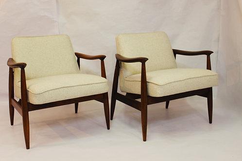 Carmen   Paire fauteuils GFM-87 Juliusz Kedziorek  1960