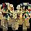Thumbnail: Paire de chaises Pelfran années 70 tissu fourrure multicolores. Réf. RAIMBOW