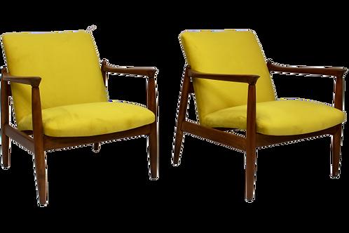 Paire de fauteuils vintage GFM-142 année 1960 Edmund Homa
