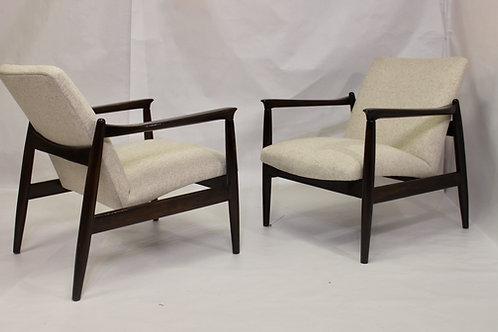 Paire de fauteuils GFM-142 par Edmund Hom REF/ BAUDELAIREa année 1960 refBA
