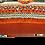 Thumbnail: Coussin berbère azilal marocains vintage dos velours orange 74x20cm Ref/ Limouna