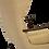 Thumbnail: Fauteuil à oreilles avec ottoman Walter Knoll éditions Knoll Antimott