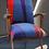 Thumbnail: Fauteuil scandinave années 50 / 60 tissu velours REF / MANDRIAN