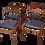 Thumbnail: TORO Lot de 4 chaises scandinaves 1960